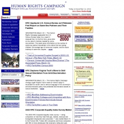 Human Rights Campaign : Working for Lesbian, Gay, and Transgenger Equal Rights