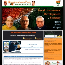 Bharatiya Janata Party - The Party with a Difference