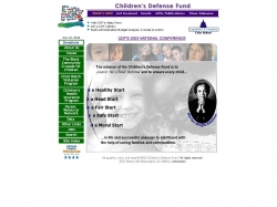 Children's Defense Fund : the Voice for all the Children of America