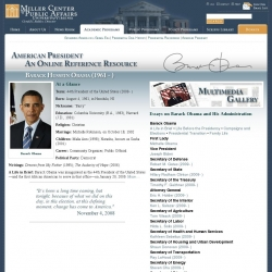 American President : An Online Resource : Barack Obama
