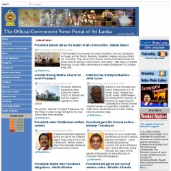 The  Official Government News Portal of Sri Lanka - Home