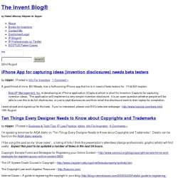 The Invent Blog