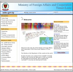 Ministry of Foreign Affairs and Cooperation, Timor-Leste (English)