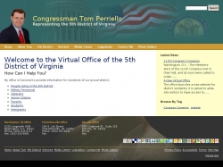 Member of Congress Official Web Site - Thomas S.P. Perriello