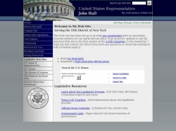 Member of Congress Official Web Site - John J. Hall