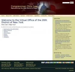 Member of Congress Official Web Site - Christopher J. Lee