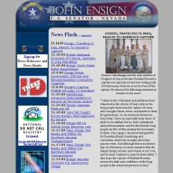 Member of Congress Official Web Site - John Ensign