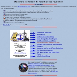 Naval Historical Foundation : Preservation, Education, and Commemoration of Naval History