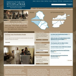 Institute for the Study of War : Military Analysis and Education for Civilian Leaders