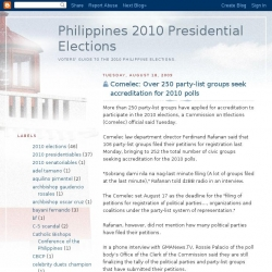 Voter's guide to the 2010 Philippine election