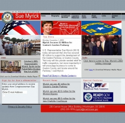 Member of Congress Official Web Site - Sue Wilkins Myrick