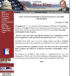 Member of Congress Official Web Site - Steve King