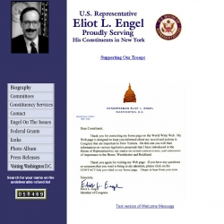 Member of Congress Official Web Site - Eliot L. Engel