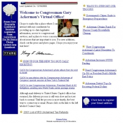 Member of Congress Official Web Site - Gary L. Ackerman