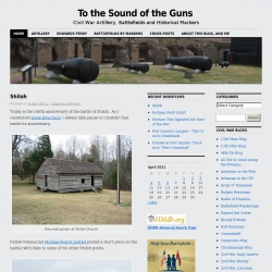 To the Sound of the Guns : Civil War Artillery, Battlefields and Historical Markers
