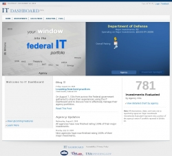 IT Dashboard : Your Window into the Federal IT Portfolio