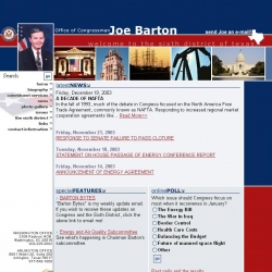 Member of Congress Official Web Site - Joe Barton