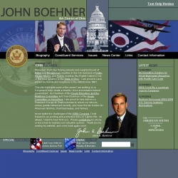 Member of Congress Official Web Site - John A. Boehner