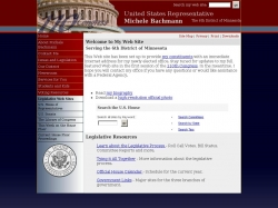 Member of Congress Official Web Site - Michele Bachmann