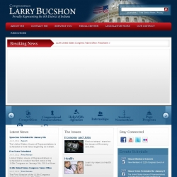 Member of Congress Official Web Site - Larry Bucshon