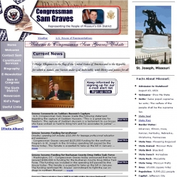 Member of Congress Official Web Site - Sam Graves