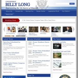 Member of Congress Official Web Site - Billy Long