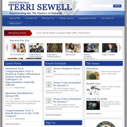 Member of Congress Official Web Site - Terri A. Sewell