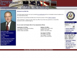 Member of Congress Official Web Site - K. Michael Conaway