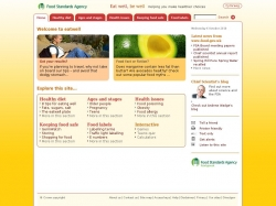 Food Standards Agency : Eat well, be well