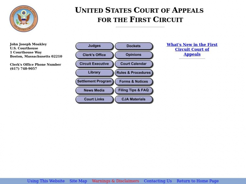 First Circuit | United States Court of Appeals