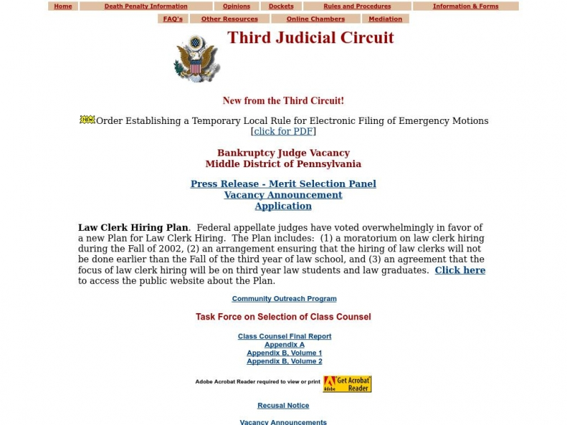 Third Circuit | United States Court of Appeals