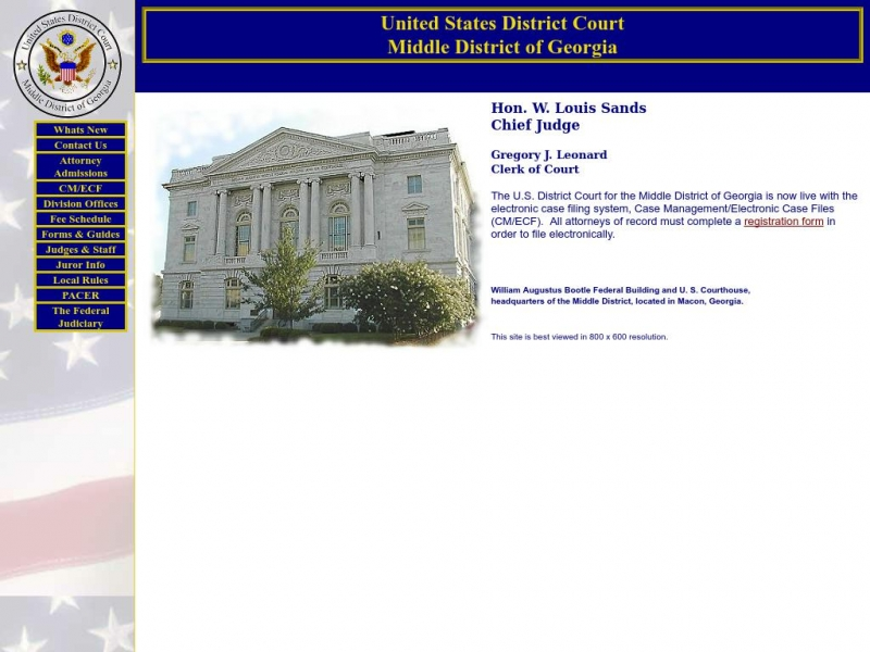 Middle District of Georgia | United States District Court