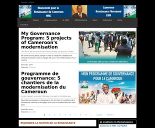 Cameroon Renaissance Movement Crm Library Of Congress